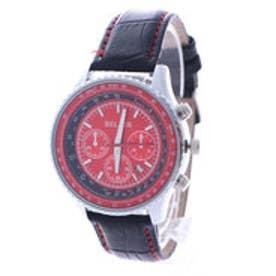 スタイルブロック STYLEBLOCK パイロット腕時計 (シルバーレッド)