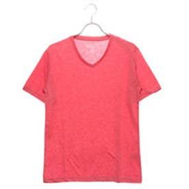 スタイルブロック STYLEBLOCK Vネックカラー半袖Tシャツ (杢レッド)