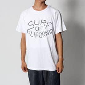 スタイルブロック STYLEBLOCK カットデニムプリントポケットTシャツ (オフホワイト)