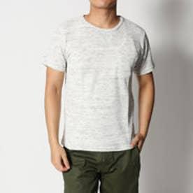 スタイルブロック STYLEBLOCK ワッフルクルーネックポケットTシャツ (杢グレー)
