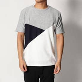 スタイルブロック STYLEBLOCK ボコテンフロント切替Tシャツ (グレー)