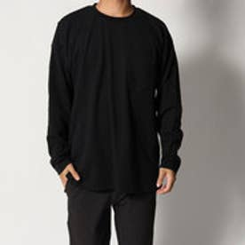 スタイルブロック STYLEBLOCK 綿ポンチBIGロンT (ブラック)