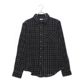 スタイルブロック STYLEBLOCK ビエラチェック長袖シャツネルシャツ (グリーン)