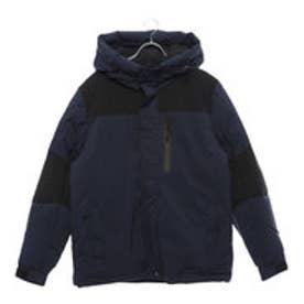 スタイルブロック STYLEBLOCK ストレッチ中綿フードジャケット (ネイビー)