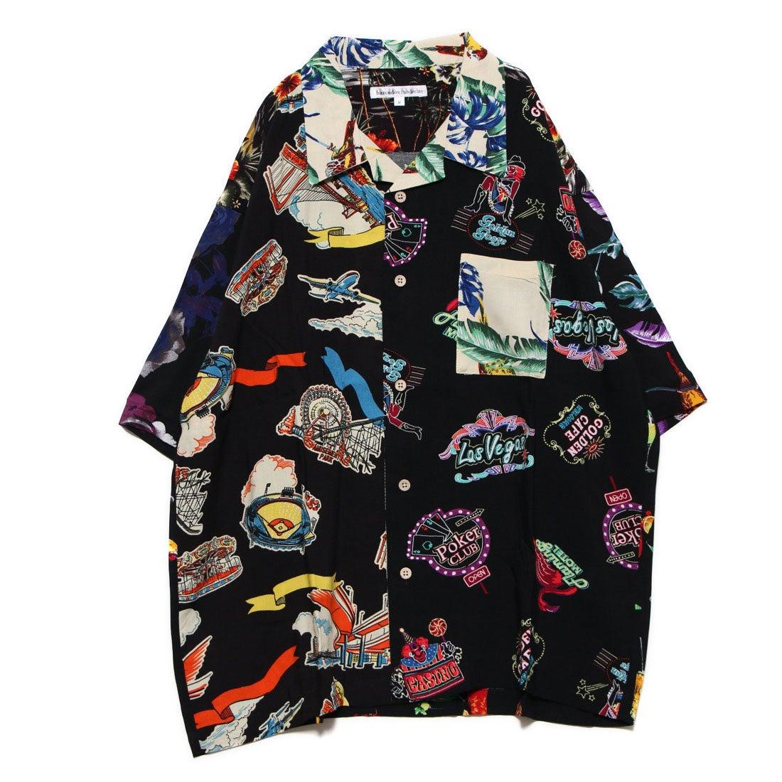 ロコンド 靴とファッションの通販サイトスタイルブロック STYLEBLOCK レーヨンビッグアロハシャツ (クレイジー1)