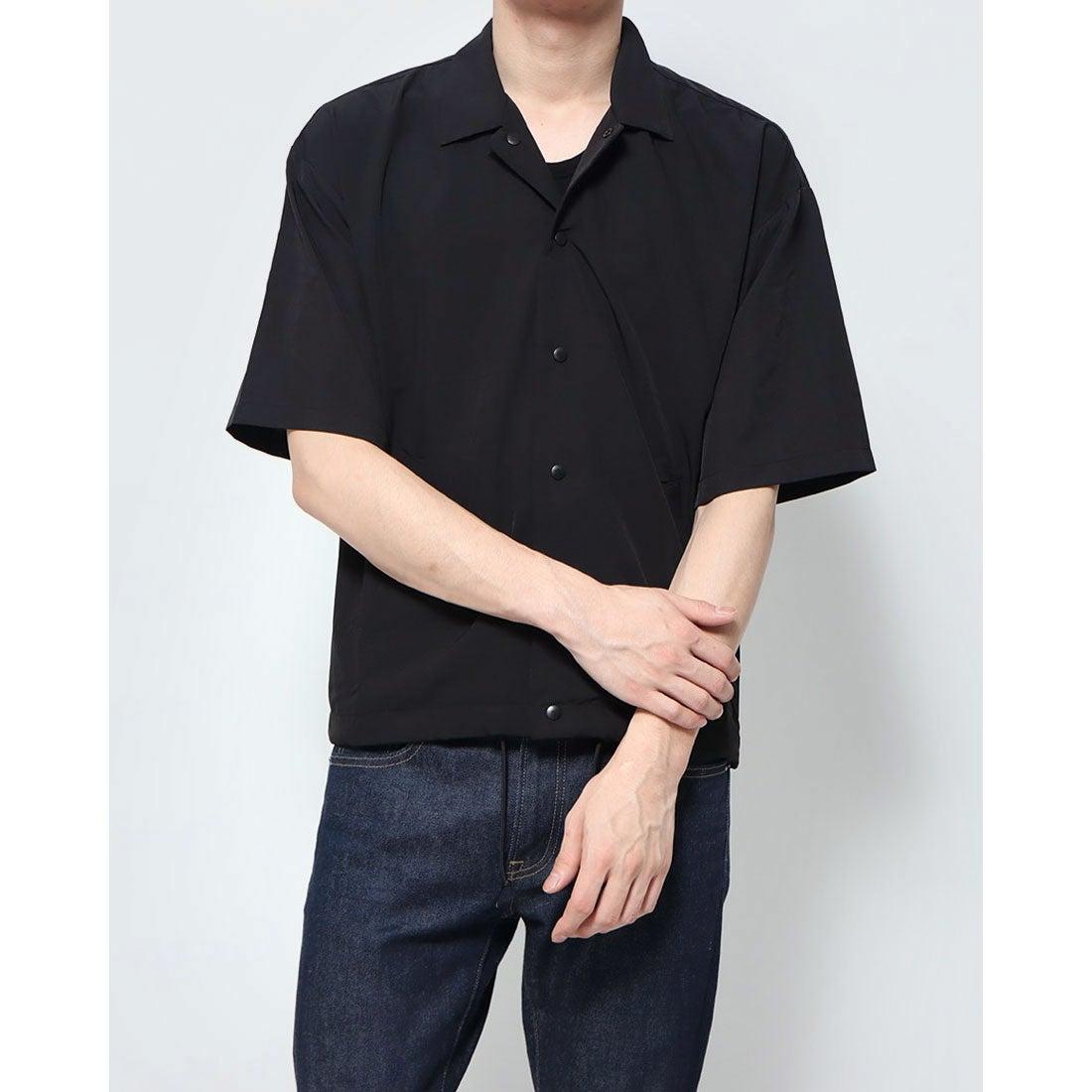 ロコンド 靴とファッションの通販サイトスタイルブロック STYLEBLOCK ドライストレッチコーチシャツ (ブラック)