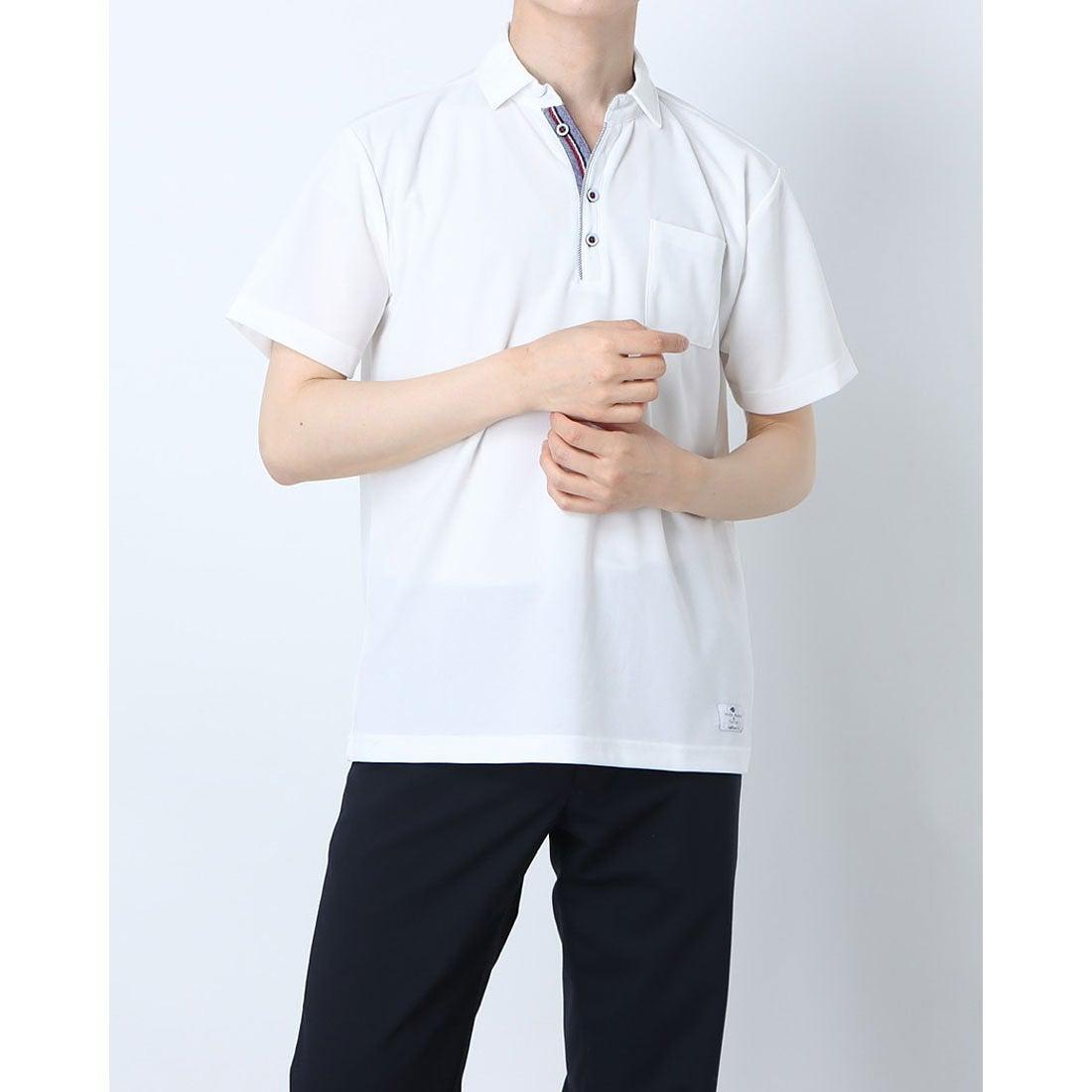 ロコンド 靴とファッションの通販サイトスタイルブロック STYLEBLOCK ドライカノコポロシャツ (ホワイト)