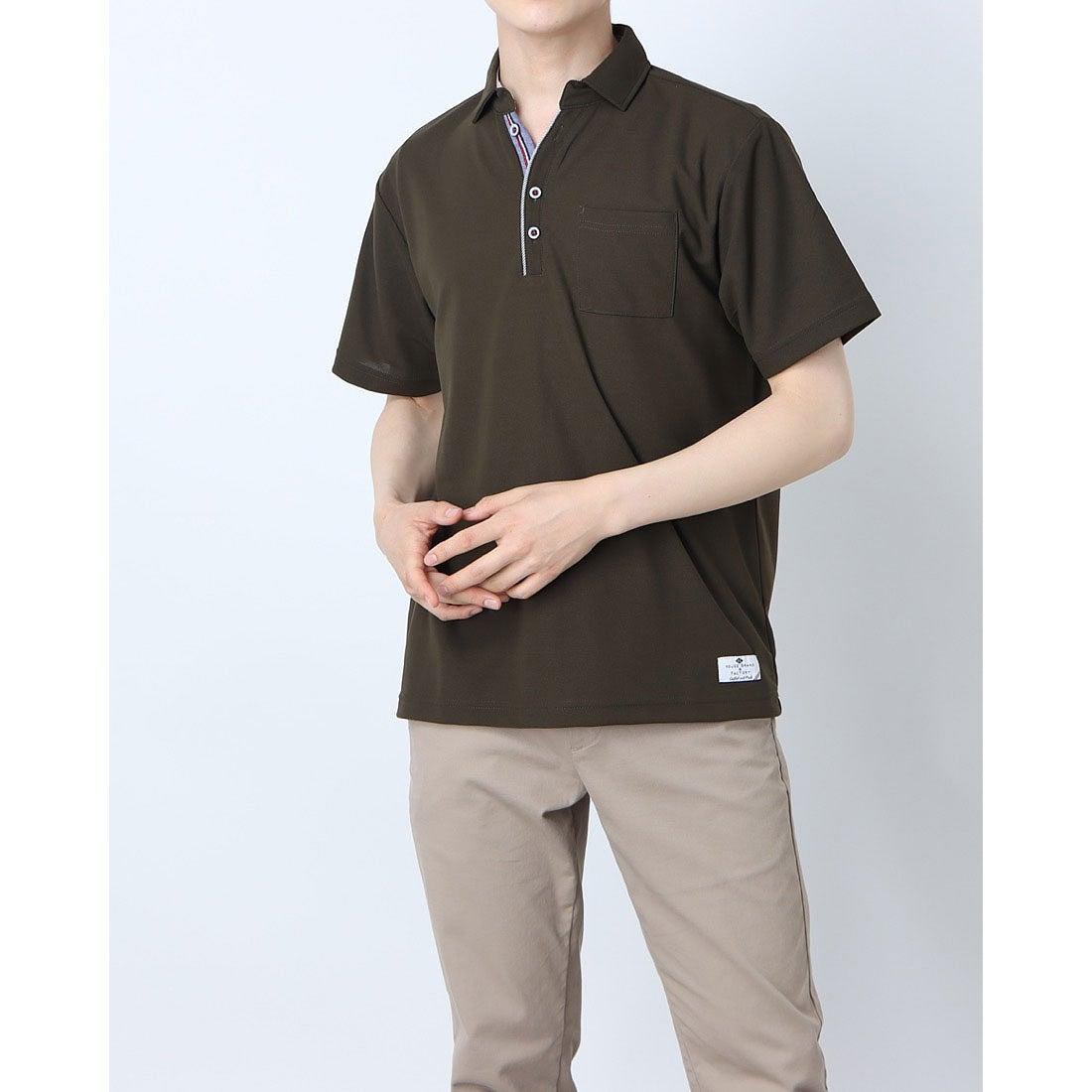 ロコンド 靴とファッションの通販サイトスタイルブロック STYLEBLOCK ドライカノコポロシャツ (カーキ)