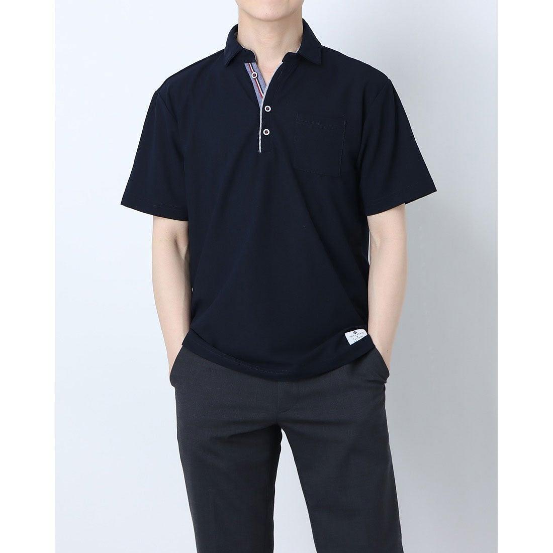 ロコンド 靴とファッションの通販サイトスタイルブロック STYLEBLOCK ドライカノコポロシャツ (ネイビー)