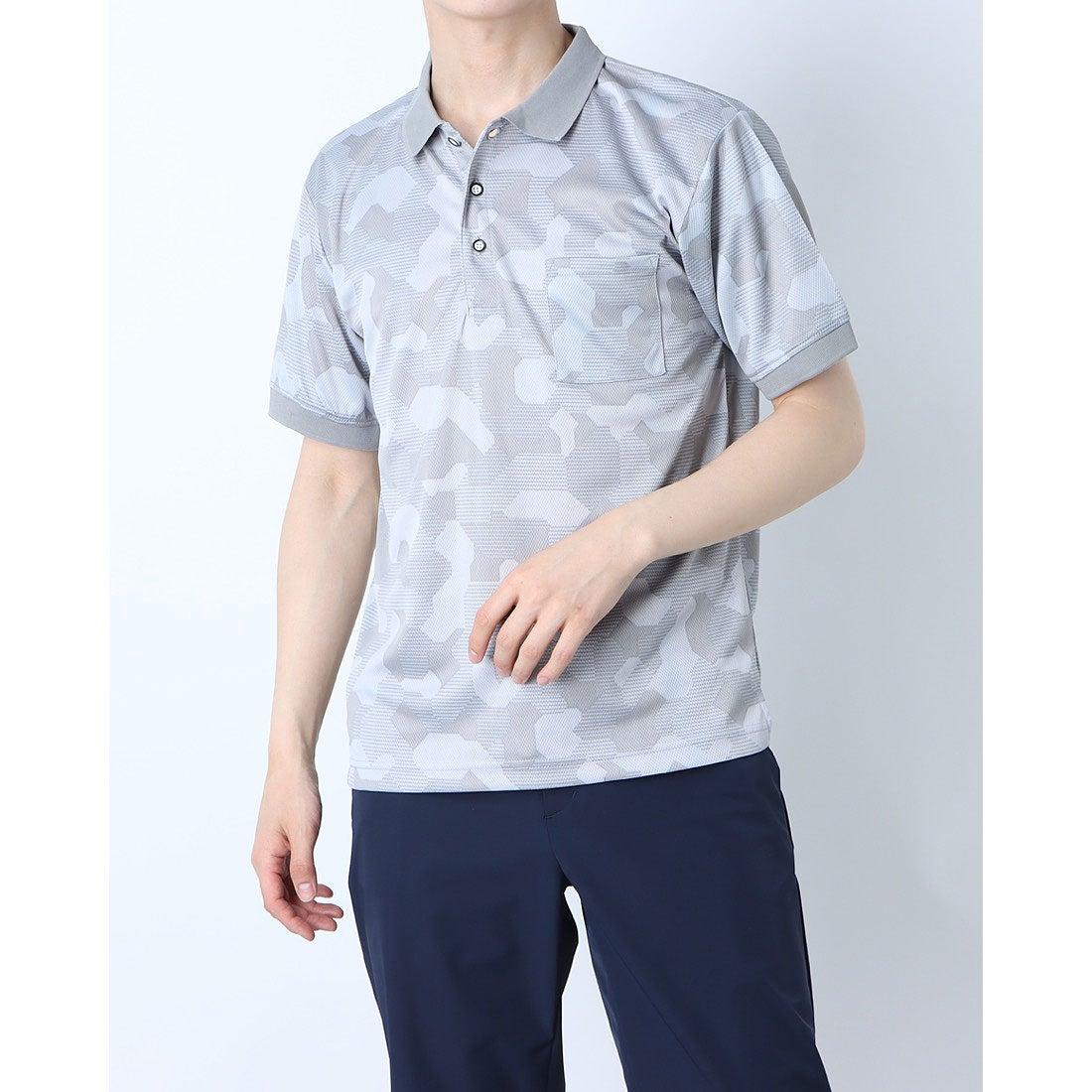 ロコンド 靴とファッションの通販サイトスタイルブロック STYLEBLOCK 総柄ドライポロシャツ (D)