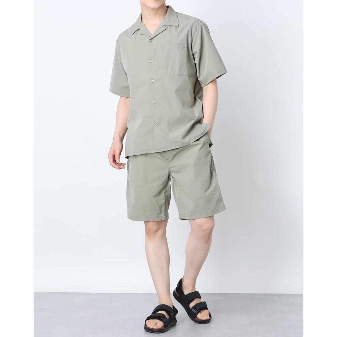 ロコンド 靴とファッションの通販サイトスタイルブロック STYLEBLOCK 3点セット半袖セットアップ (グレージュ)
