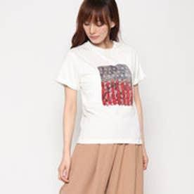 スタイルブロック STYLEBLOCK コラージュプリントショートTシャツ (ホワイト)
