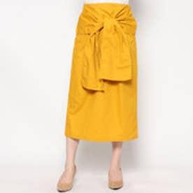 スタイルブロック STYLEBLOCK 綿ツイルタイトスカート (イエロー)