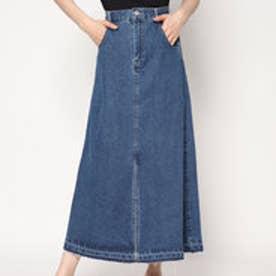 スタイルブロック STYLEBLOCK デニムスリットスカート (ブルー)