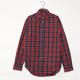 スタイルブロック STYLEBLOCK 先染めチェックビッグシャツ (レッド)