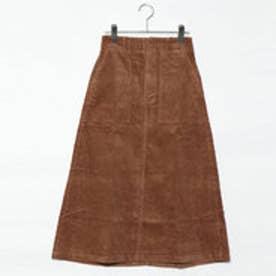 スタイルブロック STYLEBLOCK コーデュロイロングスカート (キャメル)