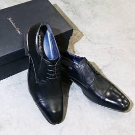サルヴァトーレロッシ Salvatore Rossi BERGAMO 通気性クッション性ビジネスシューズ (ブラック)