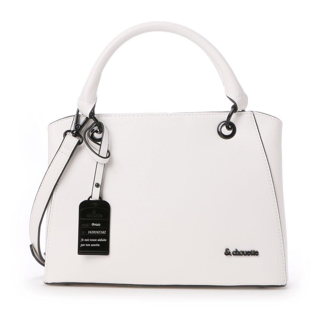 f305a2c3de75 & chouette &シュエット ソフトフォルムハンドバッグ(S)(ホワイト) ホワイト -靴&ファッション通販 ロコンド〜自宅で試着、気軽に返品