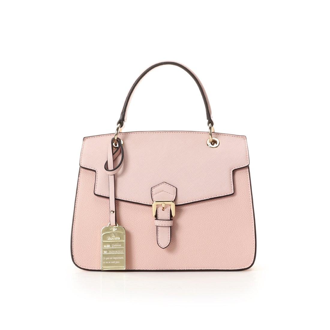0ef4de9d1401 & chouette &シュエット 1ハンドルベルトデザインバッグ ピンク -靴&ファッション通販 ロコンド〜自宅で試着、気軽に返品
