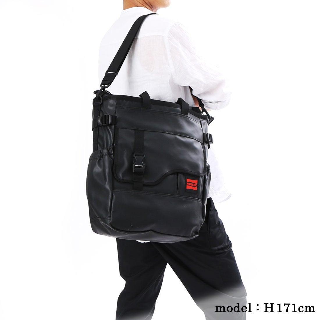 tote bag 3way tote bag tp-34 black Nomadic NEW