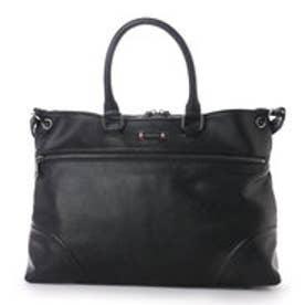 サマンサキングズ シンプル ビジネスバッグ(ブラック)