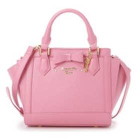 サマンサベガ リボンパスケース付きバッグ 小(ピンク)