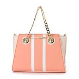サマンサベガ センターラインバッグ小 ピンク