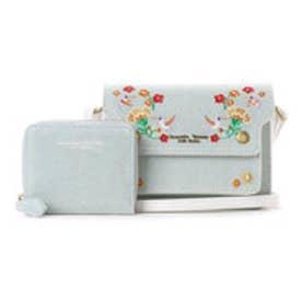サマンサタバサプチチョイス サマンサ デュオ デニム刺繍バージョン(ライトブルー)