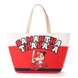 サマンサタバサ カープコラボトートバッグ(カープ坊やレッド) レッド