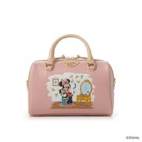 サマンサベガ ディズニーコレクションミニー&フィガロボストンミニバッグ ピンク