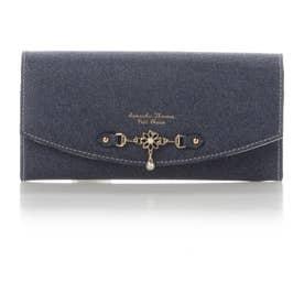 サマンサタバサプチチョイス サマンサ デニムアリア かぶせ財布(インディゴ)