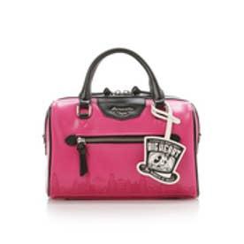 サマンサベガ ディズニーコレクション「ミッキーマウス&ミニーマウス」ミニボストン(ピンク)