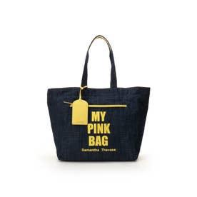 サマンサタバサ MY PINK BAG 大サイズ イエロー