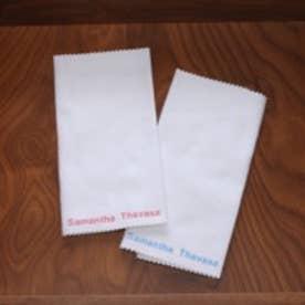 サマンサタバサ レザー用クロス(ホワイト)