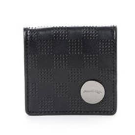 キングズ バイ サマンサタバサ 市松模様柄 BOX型コインケース(ブラック)