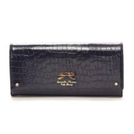 サマンサタバサプチチョイス クロコシンプルリボン 長財布(ネイビー)