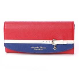 サマンサタバサプチチョイス バイカラーベルトシリーズ マリンバージョン 長財布(レッド)