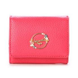 サマンサベガ フラワーミニ財布(フューシャピンク)