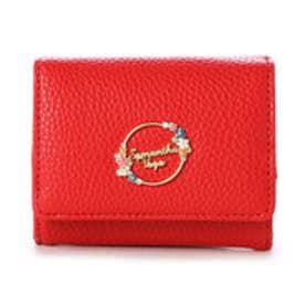 サマンサベガ フラワーミニ財布(レッド)