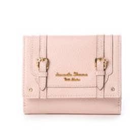 サマンサタバサプチチョイス フラワーベルトモチーフ 折財布(ピンク)