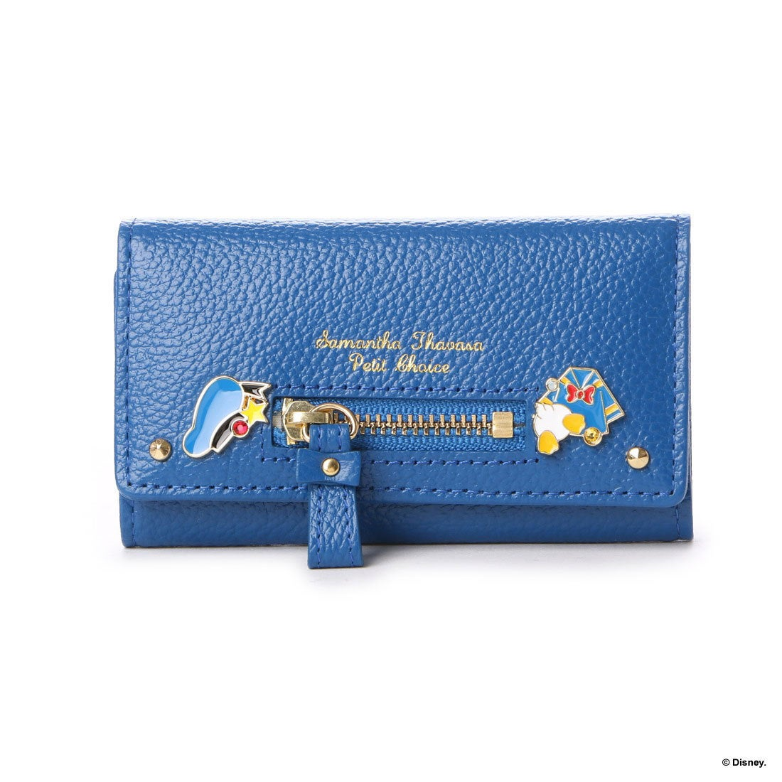 45803f6ff132 Samantha Thavasa サマンサタバサプチチョイス ディズニーコレクション「ミッキーマウス&ミニーマウス」「ドナルドダック&デイジーダック」  キーケース(ドナルド ...