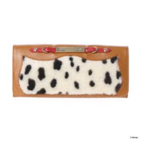 サマンサタバサプチチョイス ディズニーコレクション 101匹わんちゃん かぶせ長財布(キャメル)