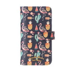 【雑誌掲載】サマンサタバサプチチョイス メキシカンシリーズ iPhoneケース 合皮バージョン(ネイビー)