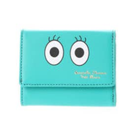 サマンサタバサプチチョイス アメイジングフェイスシリーズ 3つ折り財布(グリーン)