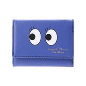 サマンサタバサプチチョイス アメイジングフェイスシリーズ 3つ折り財布(ネイビー)