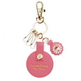 サマンサタバサプチチョイス フラワーハンドルシリーズ キーホルダー(ピンク)