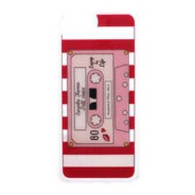 サマンサタバサプチチョイス カセットテープデザイン iPhone7ケース(レッド)