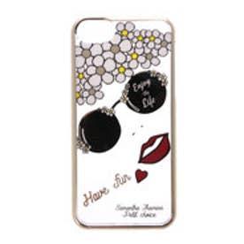 サマンサタバサプチチョイス フェイスデザイン iPhone7ケース(グレー)