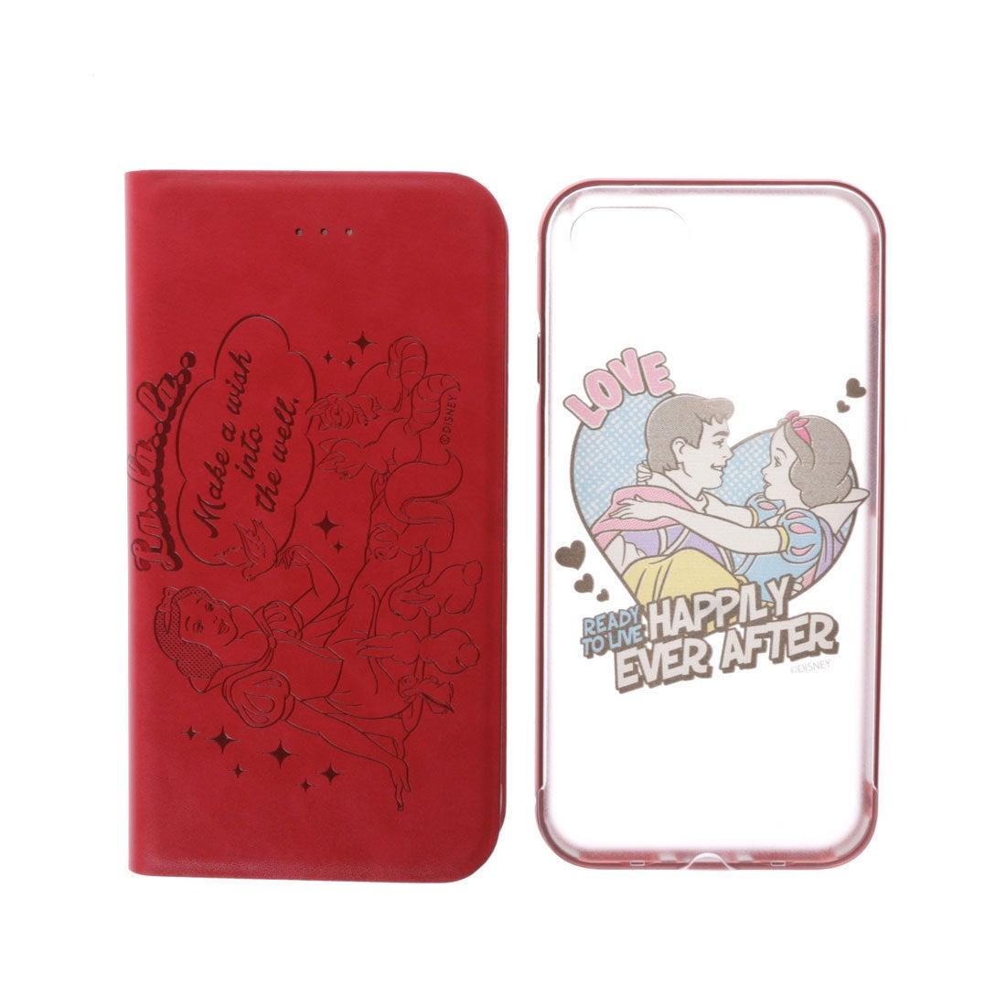 サマンサタバサプチチョイス ディズニーコレクション「白雪姫」iPhone7ケース(レッド) レディース