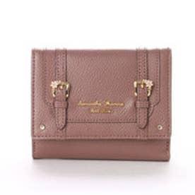 サマンサタバサプチチョイス ディーブルーメ 折財布(ブラウン)